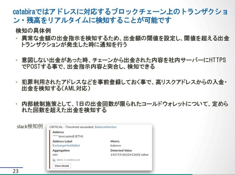 catabiraプレゼンテーション②
