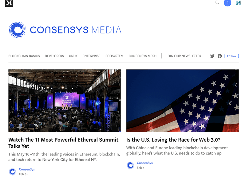 CONSENSYS MEDIA(コンセンシス・メディア)